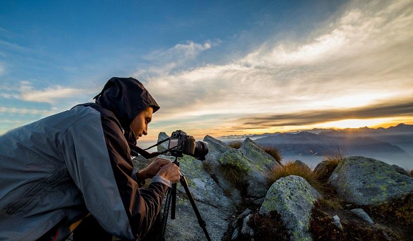 Photographe paysage soleil