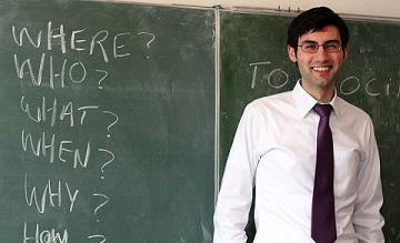 Professeur d'Anglais