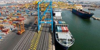 Un port de marchandise où sont stockées et acheminées les marchandises